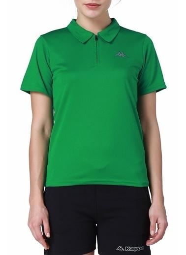 Kappa Polo Slim Fit Unisex T-Shirt Yeşil